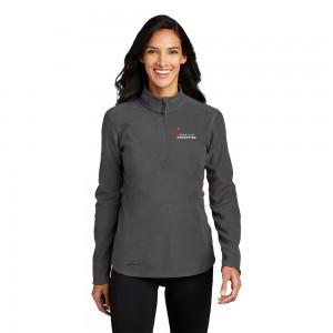 Eddie Bauer® Ladies' 1/2-Zip Microfleece Jacket