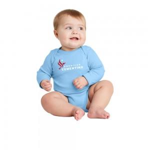 Rabbit Skins™ Infant Long Sleeve Baby Rib Bodysuit